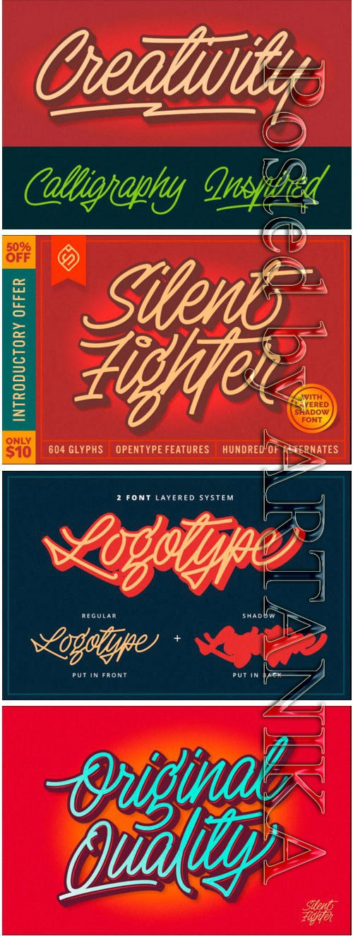 Silent Fighter Font