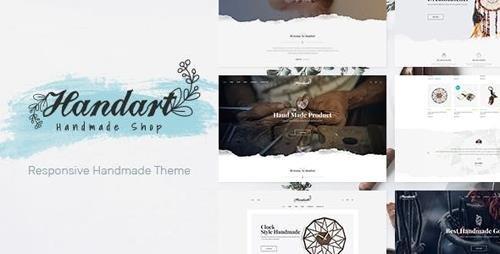 ThemeForest - Handart v1.0 - Handmade Theme for WooCommerce WordPress - 23112015