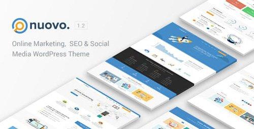 ThemeForest - Nuovo v1.2 - Social Media, Digital Marketing Agency, SEO WordPress Theme - 21759246