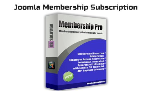 OS Membership Pro v2.16.1 - Joomla Membership Subscription