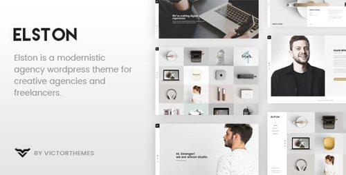 ThemeForest - Elston v1.7 - Portfolio for Freelancers Agencies - 18769441