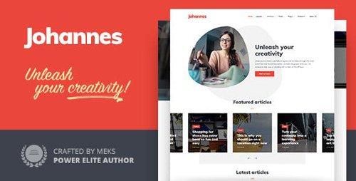 ThemeForest - Johannes v1.1 - Multi-concept Personal Blog & Magazine WordPress theme - 23375358