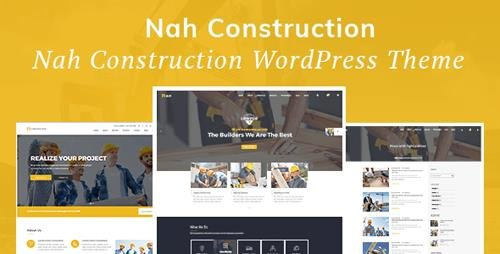 ThemeForest - Nah v1.1.2 - Construction, Building Business WordPress Theme - 20147226