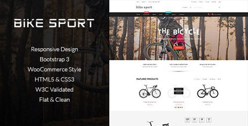 ThemeForest - Bike Shop v1.0 - HTML Shop Template - 11939338