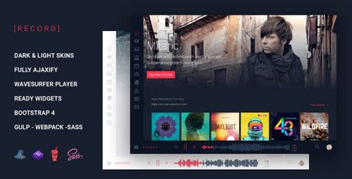 ThemeForest - Rekord v1.0 - Music Event Multipurpose HTML Template - 23342619