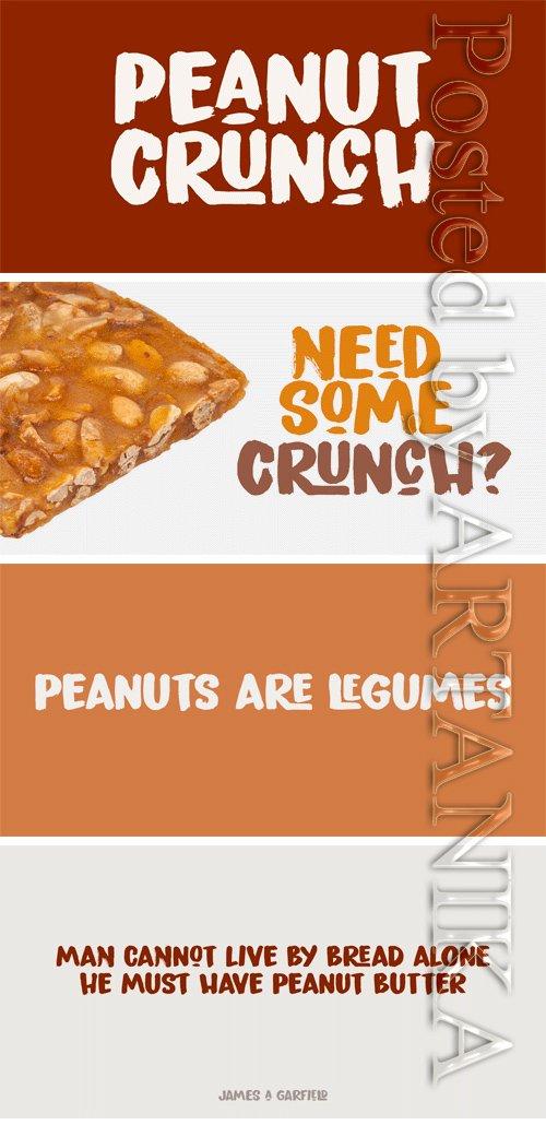 Peanut Crunch Font Family