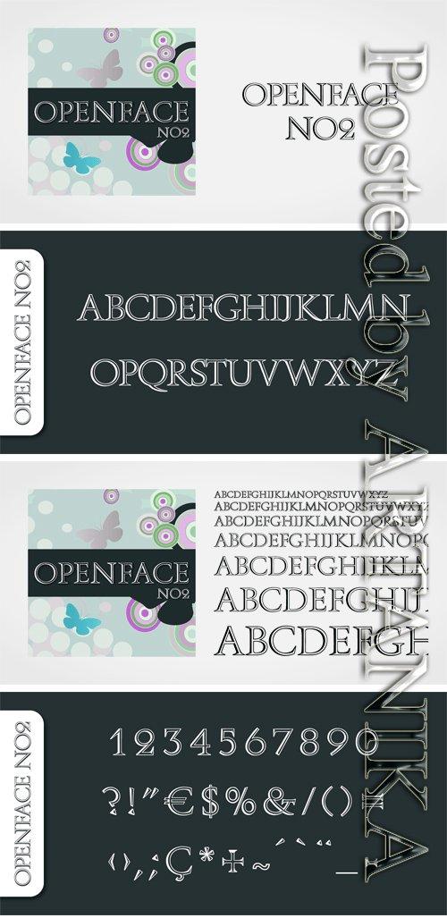 Openface No2 Font