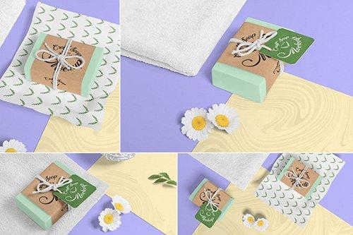 Craft Soap Bar Mockups