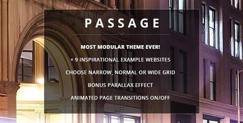 ThemeForest - Passage v2.0.0 - Responsive Retina Multi-Purpose Theme - 5188123