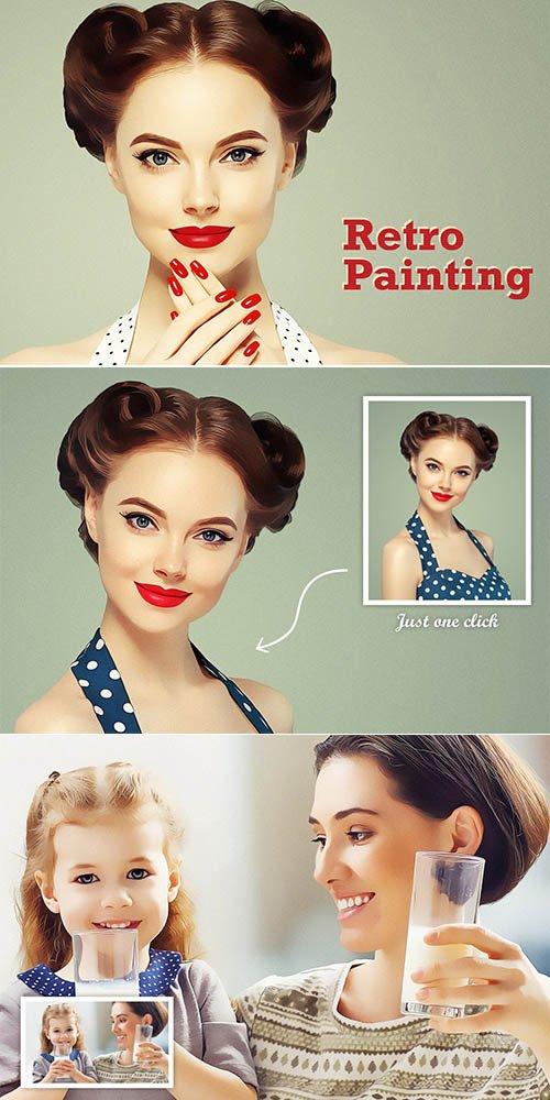 CreativeMarket - Retro Painting Vol-3 3384833