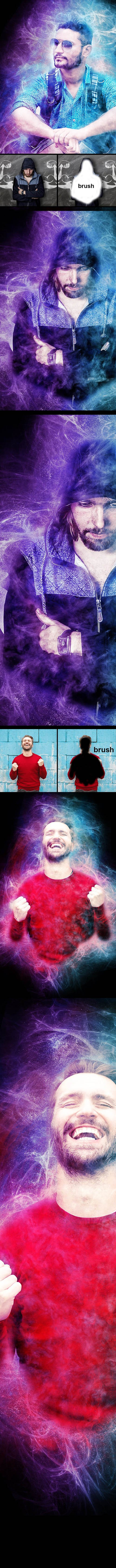 GraphicRiver - Amazing Power Photoshop Action 23444666