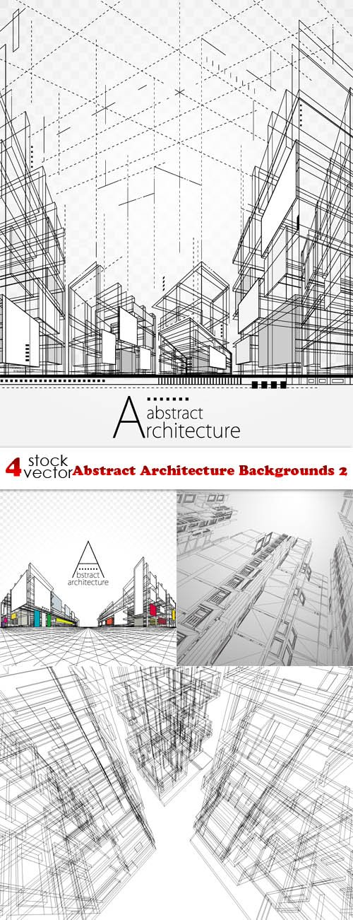 Vectors - Abstract Architecture Backgrounds 2