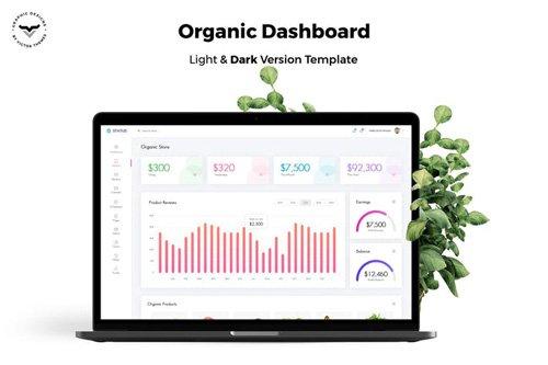 Organic Store Admin Dashboard UI Kit
