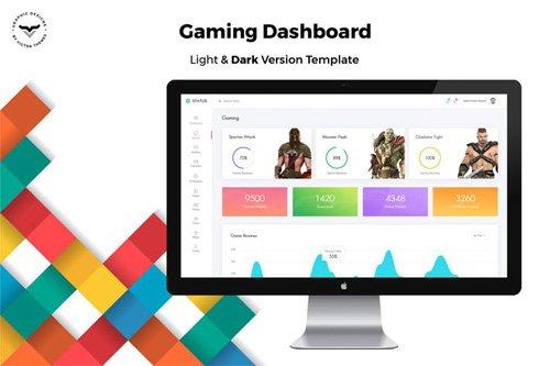 Gaming Admin Dashboard UI Kit