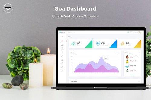 Spa Admin Dashboard UI Kit