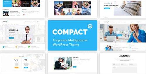ThemeForest - Compact v1.3.0 - Corporate Multipurpose WordPress Theme - 16149993