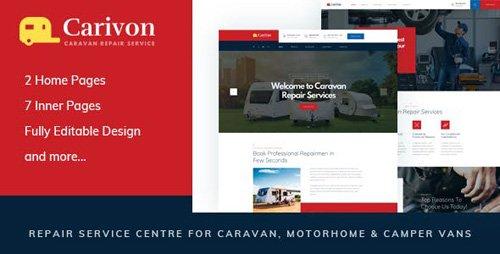 ThemeForest - Carivon v1.0 - Repair Service Centre for Caravan & Motorhome HTML Template - 23490448