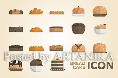 Bread & Cake Icon