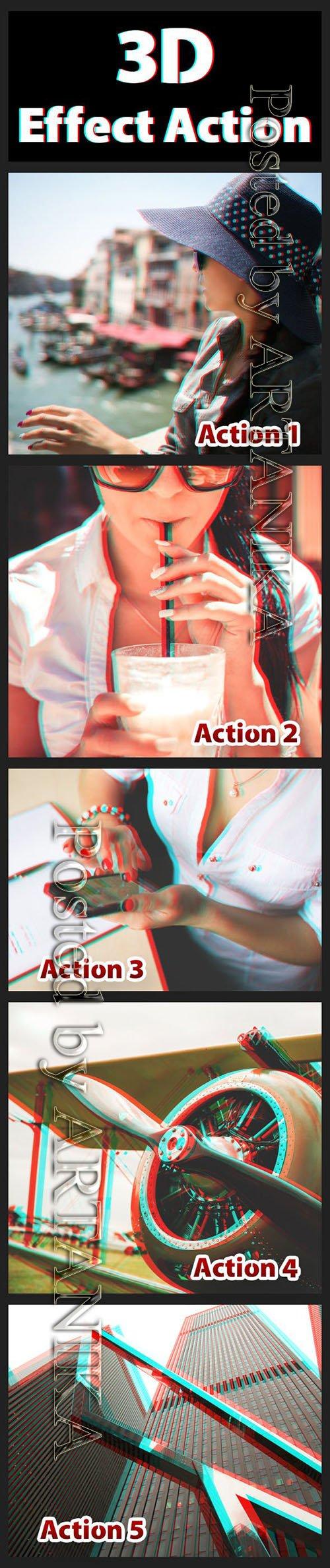GR - 3D Effect Actions 8507400