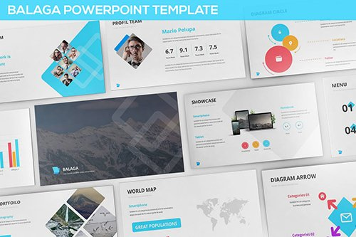 Balaga Powerpoint Template