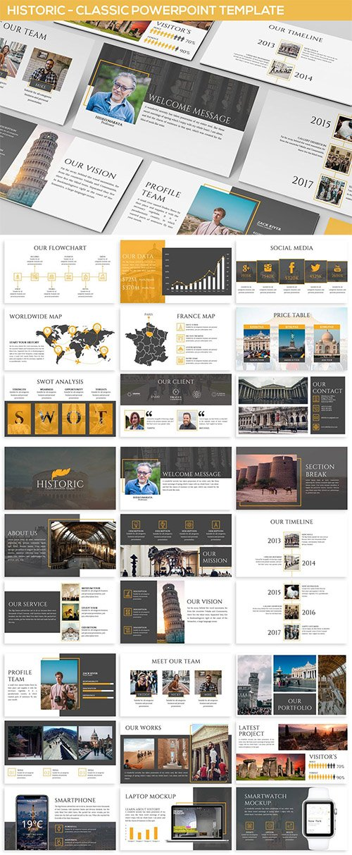 Historic - Powerpoint Presentation Template