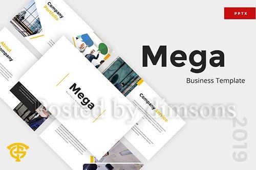 Mega Business - Powerpoint, Keynote and Google Slides Templates