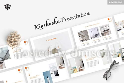 Kinshasha - Powerpoint, Keynote and Google Slides Templates