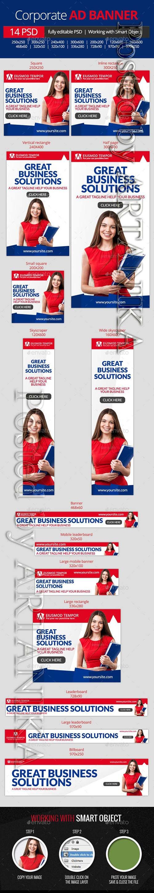 GraphicRiver - Business Corporate web banners 10959425