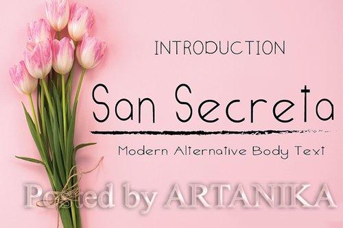 San Secreta Font