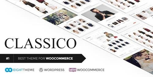 ThemeForest - Classico v2.3 - Responsive WooCommerce WordPress Theme - 11024192 - NULLED