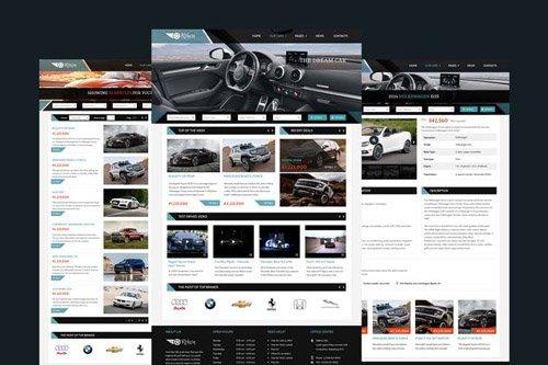 Orthon - Auto Dealer PSD Template