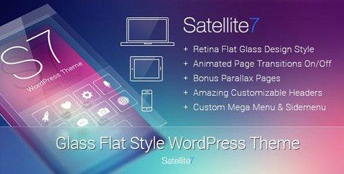ThemeForest - Satellite7 v3.0.5 - Retina Multi-Purpose WordPress Theme - 5622532