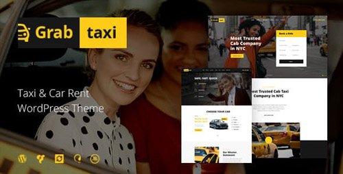 ThemeForest - Grab Taxi v1.2.2 - Online Taxi Service WordPress Theme - 20263738