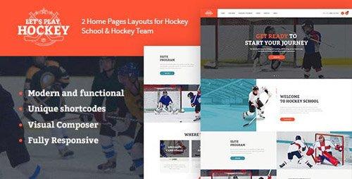 ThemeForest - Let's Play v1.1.2 - Hockey School & Sport WordPress Theme - 19638415