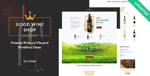 ThemeForest - Good Wine v1.1.2 - Wine House, Winery & Wine Shop WordPress Theme - 19399667