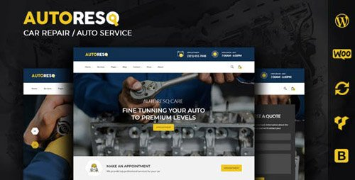 ThemeForest - Autoresq v2.0 - Car Repair WordPress Theme - 22307663