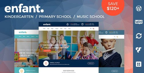 ThemeForest - Enfant v3.0 - School and Kindergarten WordPress Theme - 20121401