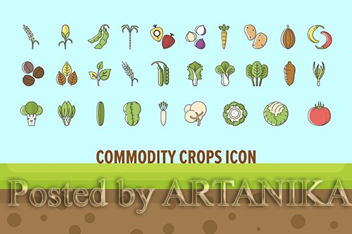 Commodity Crops Icon