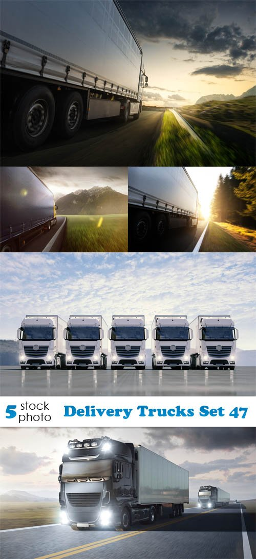 Photos - Delivery Trucks Set 47