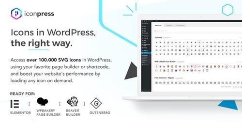 CodeCanyon - IconPress Pro v1.4.5 - Icon Management for WordPress - 22369178 - NULLED