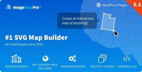 CodeCanyon - Image Map Pro for WordPress v5.1.2 - SVG Map Builder - 2826664