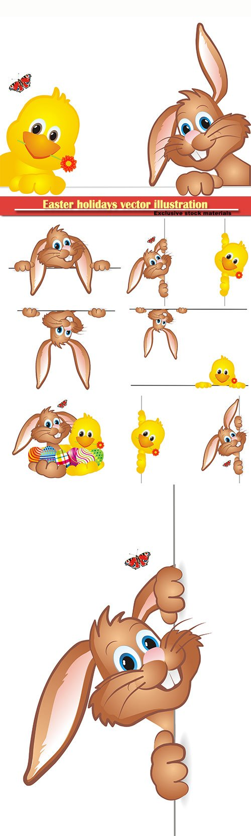 Easter holidays vector illustration # 4