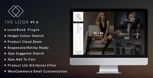 ThemeForest - The Look v1.6 - Clean, Responsive Magento Theme - 15757198