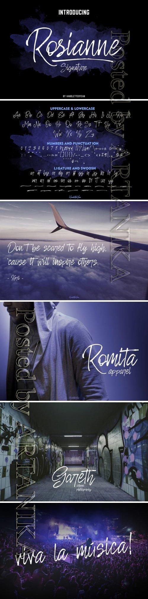 Rosianne Font