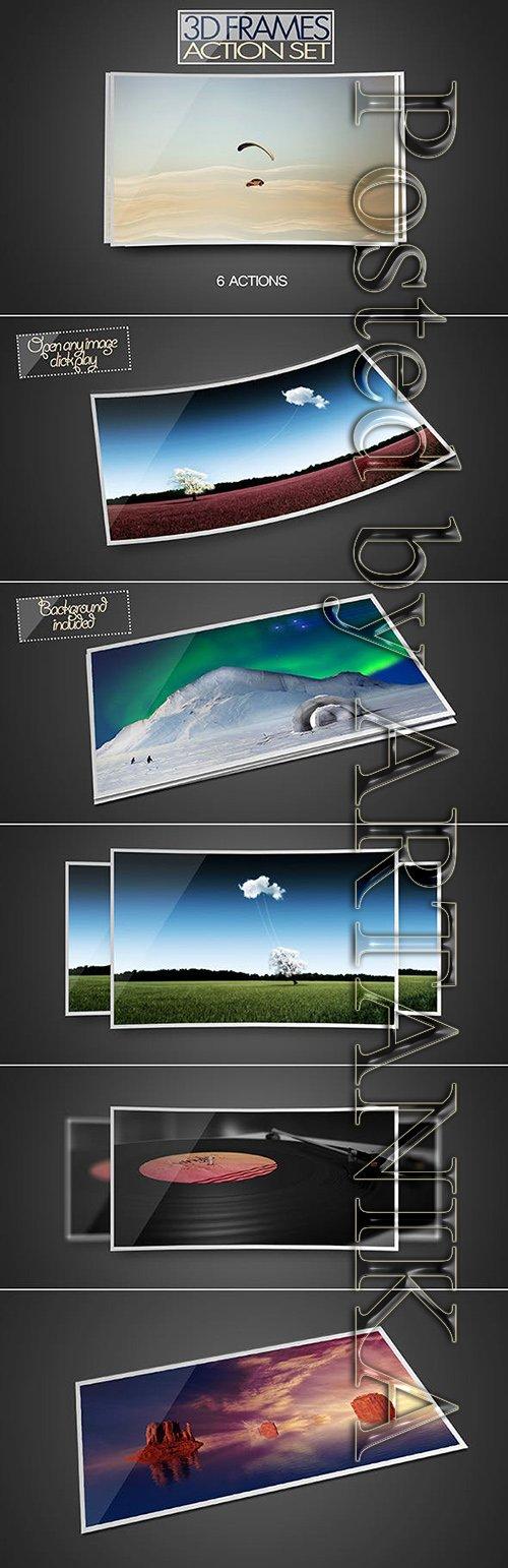 GR - 3D Frame Action Set 8565393