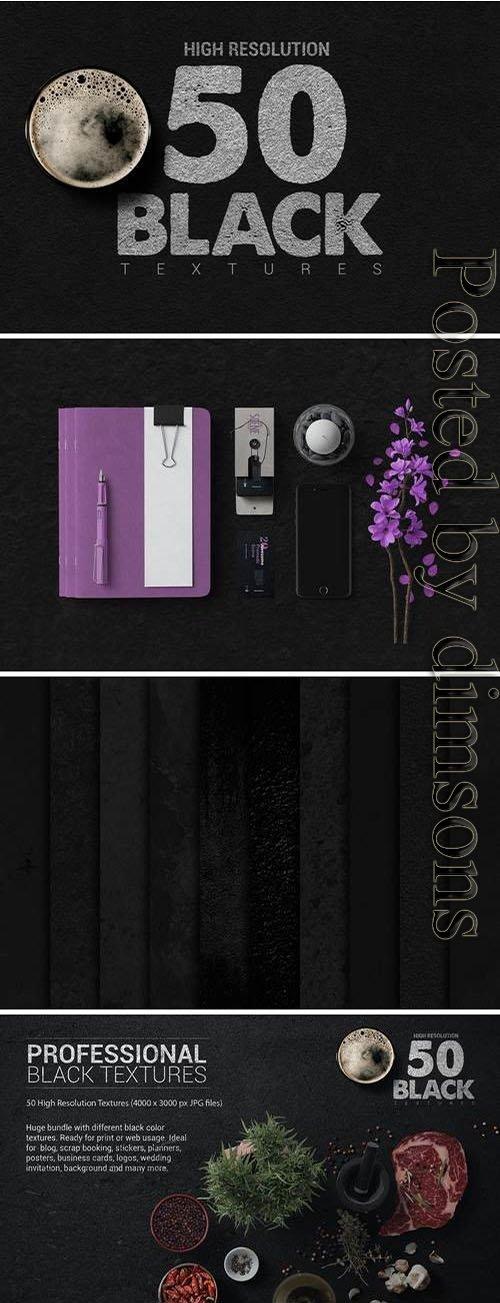 Bundle Black Textures Vol1 x50