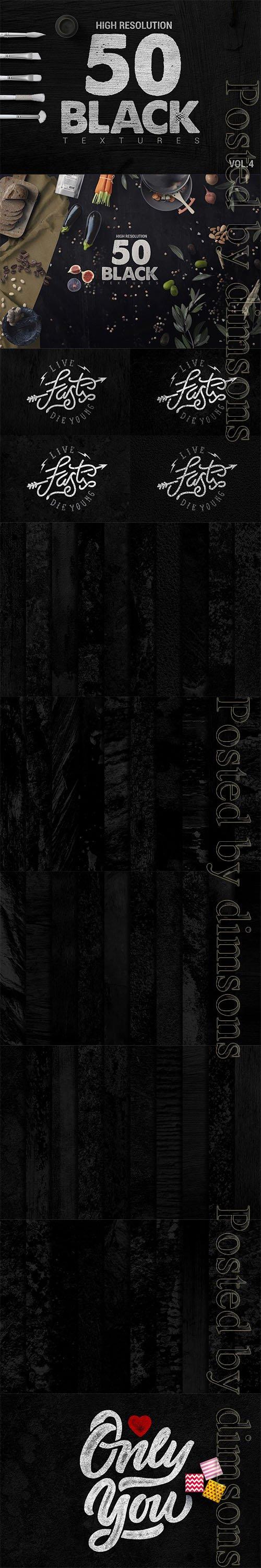 Bundle Black Textures Vol4 x50