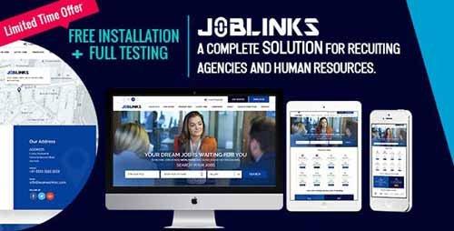 CodeCanyon - Job Links v1 0 - Complete Job Management Script