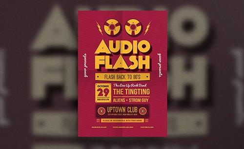 Audio Flash Music Flyer