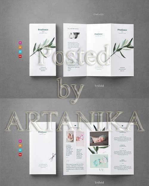 CreativeMarket - Trifold Brochure Flyer 2266017